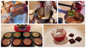 Wir backen Schoko-Muffins