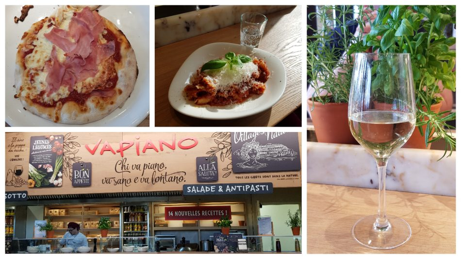 Das Vapiano im Villages Nature Paris